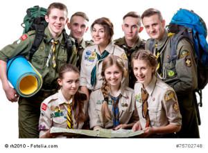Pfadfindergruppe