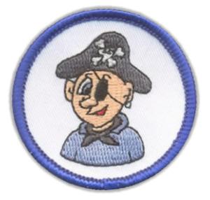 """Schwimmabzeichen """"Pirat"""""""