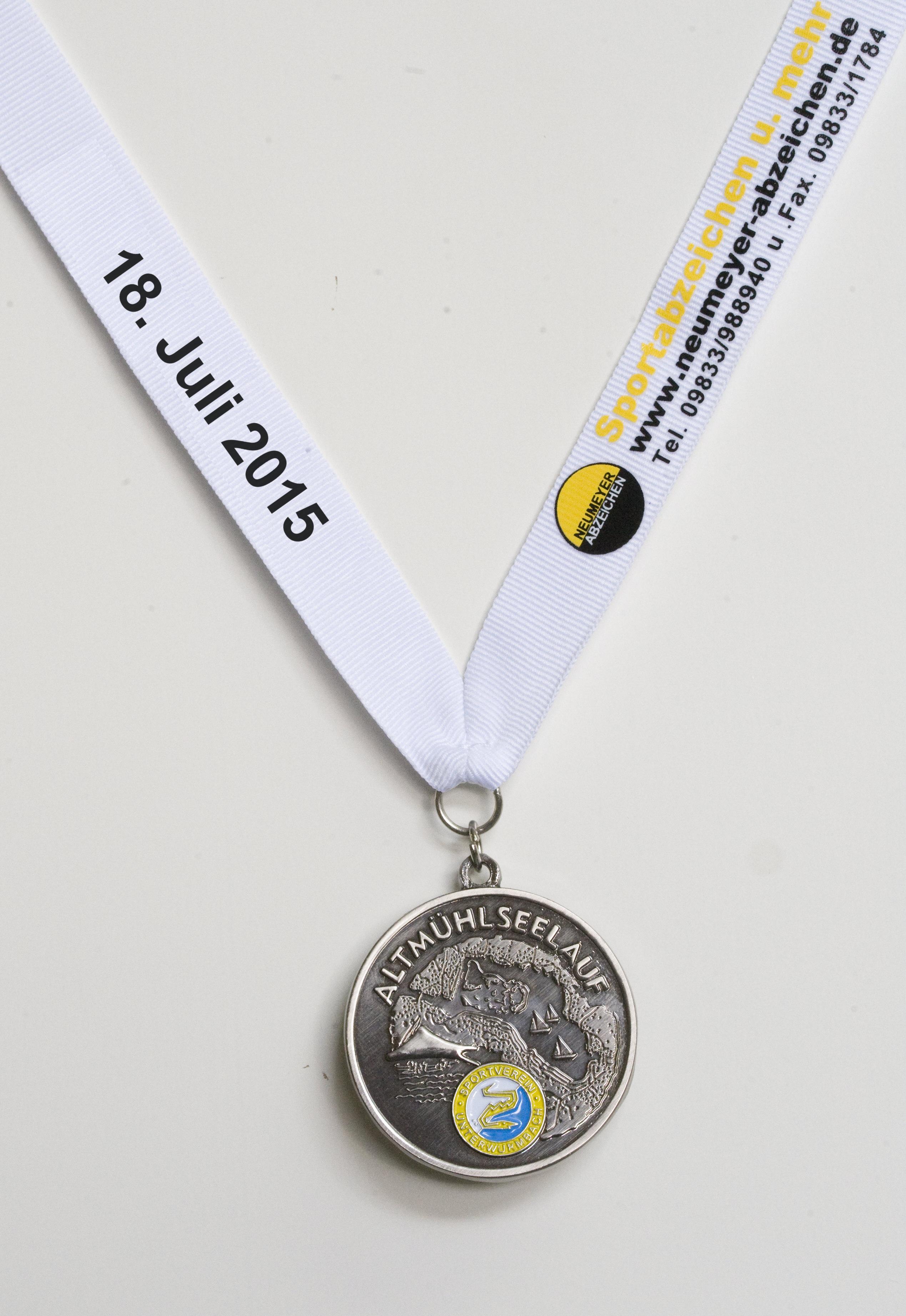 Medaille Altmühlseelauf