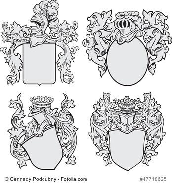 verschiedene Wappen
