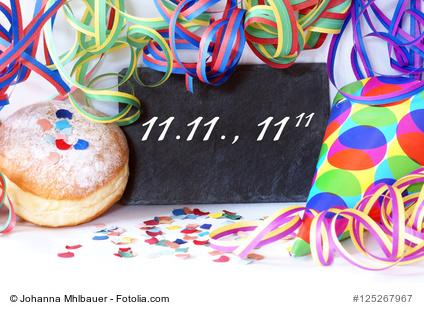 11.11. Faschingsbeginn