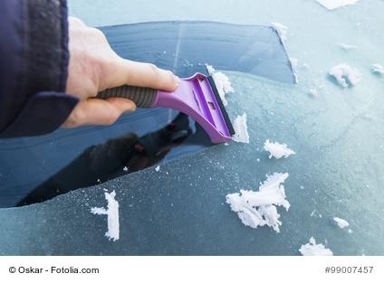 Eiskratzer sind ein beliebtes Werbegeschenk im Winter