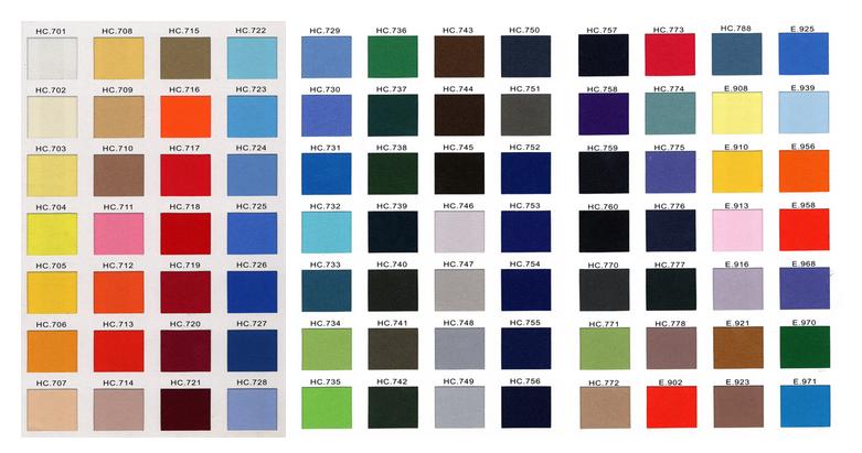 Farbauswahl Aufnäher