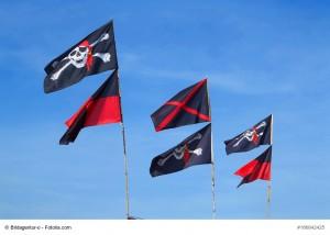 Besondere Fahnen: Piratenflaggen