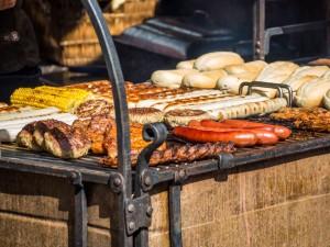Firmen-Sommerfest mit Grillen
