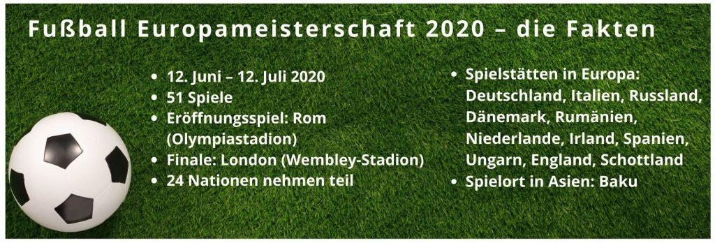 Fakten Fußball Europameisterschaft 2020