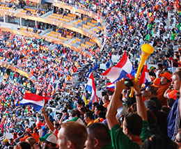 Fans Fußballstadion
