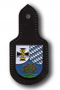 Bundeswehr internes Verbandsabzeichen Brustabzeichen Halbrundschild