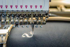 Textilien Stickmaschine