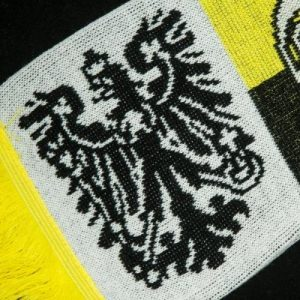 Fanschal Logo Detailaufnahme Adler