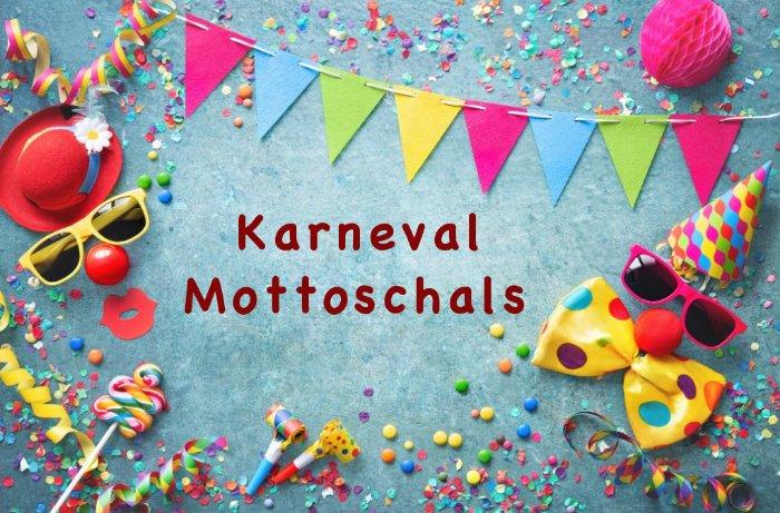 Karneval Mottoschals
