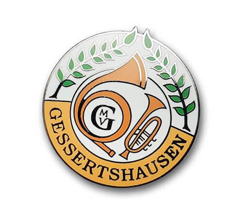 Ansteckpins bestellen | Pins Kaltemailliert Gessertshausen