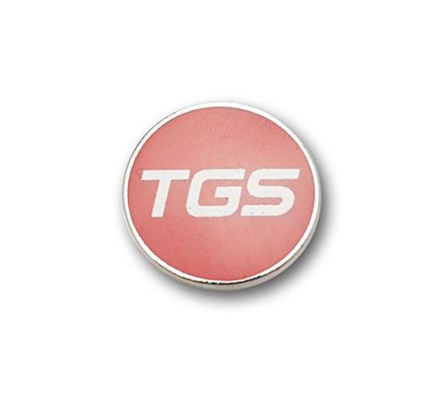 Ansteckpins bestellen | Pins Kaltemailliert TGS