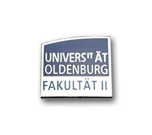 Ansteckpins kaufen | Pins Kaltemailliert Universität Oldenburg