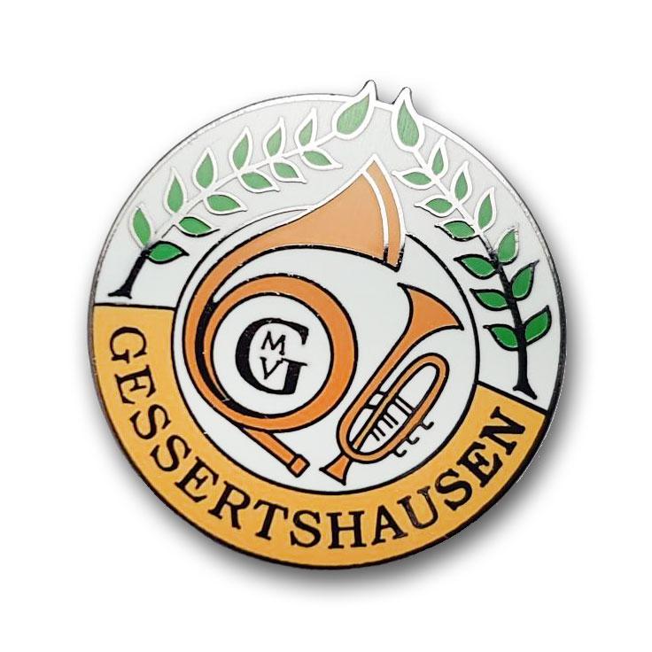 Kaltemaillierte Pins Gessertshausen