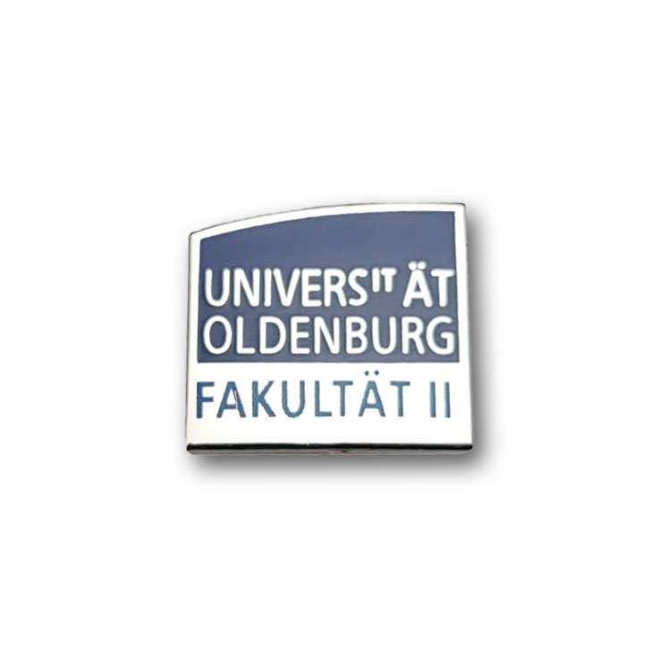 Kaltemaillierte Pins Universität Oldenburg