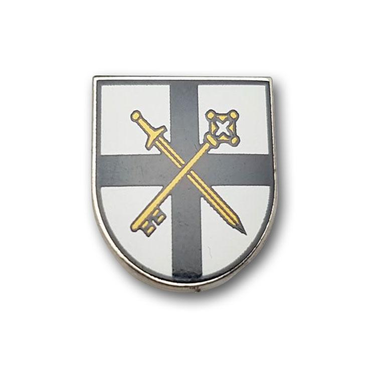 Kaltemaillierte Pins Wappen