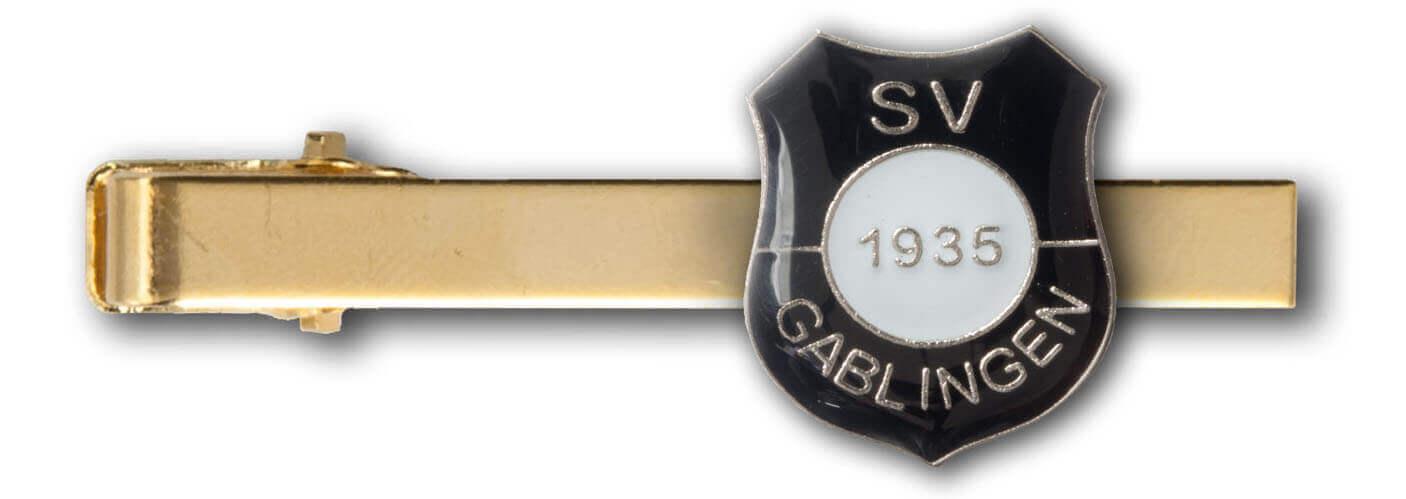 Individuelle Anstecknadeln mit rückseitiger Krawattenklammer