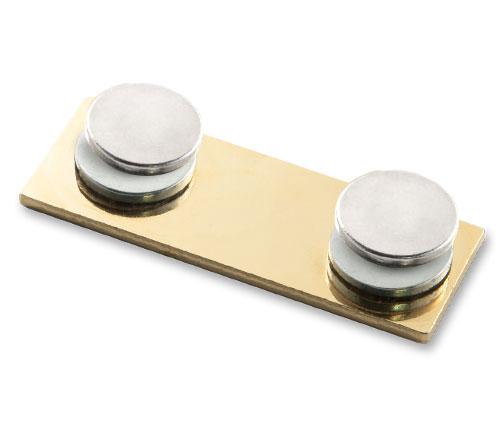Pins Befestigung | Magnetbefestigung