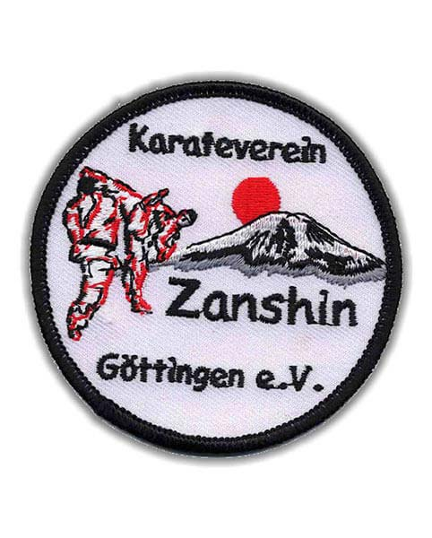 Aufnäher Kampfsport Karateverein Zanshin Göttingen e.V.