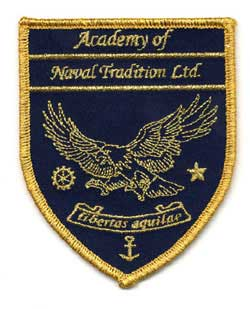 Aufnäher mit Metallfaden Academy of Naval Tradition