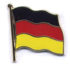 Anstecker D/änemark vergoldet Flaggen-Pin