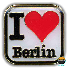 Anstecker-Pin I love Berlin