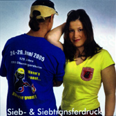 T-shirts Siebdruck, Siebtransferdruck