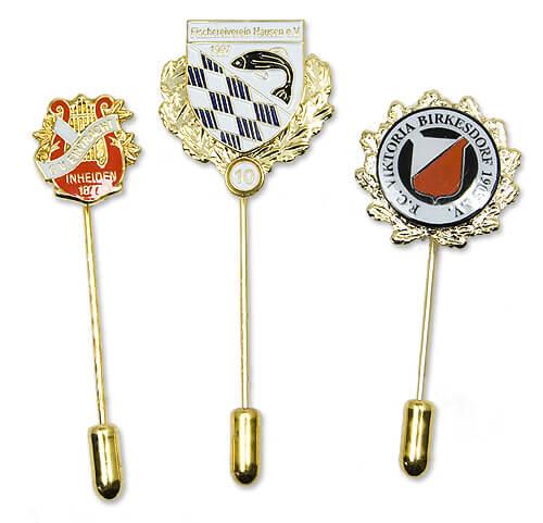 Individuelle Anstecknadeln und Pins mit langer Nadel