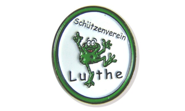 Button Anstecker: Frosch