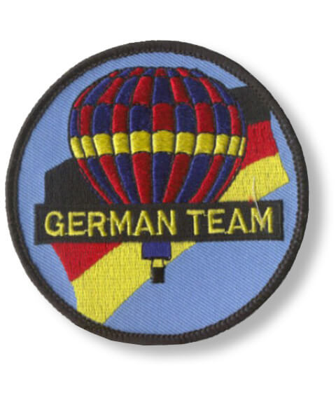 Aufnäher Ballonsport German Team
