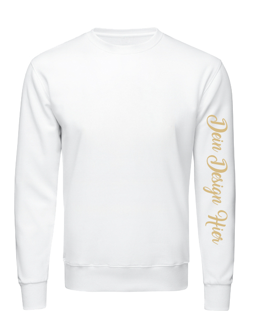 Sweatshirt Ärmeldruck